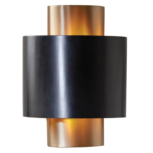 Baila Modern Classic Antique Bronze Oval Sconce | Kathy Kuo Home