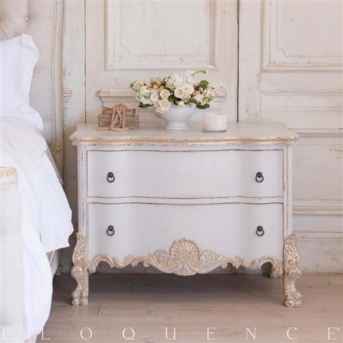 eloquence roma gold taupe two tone commode kathy kuo home. Black Bedroom Furniture Sets. Home Design Ideas