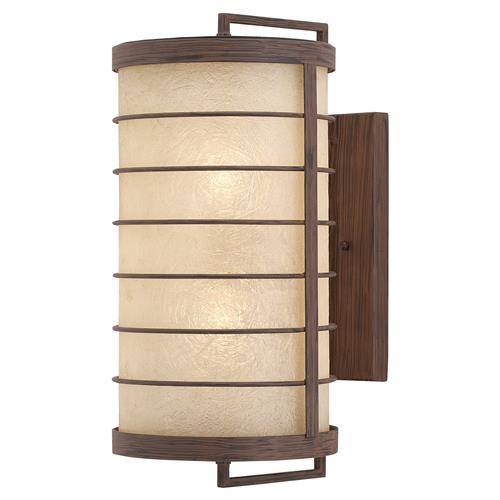 Yojiro global rustic wood japanese lantern sconce kathy for Asiatische sofas