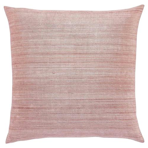 Regency Rose Linear Raw Silk Pillow - 20x20 | Kathy Kuo Home
