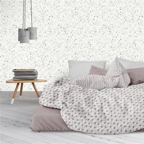 black splatter modern classic removable wallpaper kathy