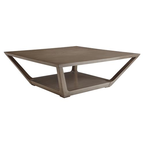 Lourdes Modern Classic Square Coffee Table Kathy Kuo Home