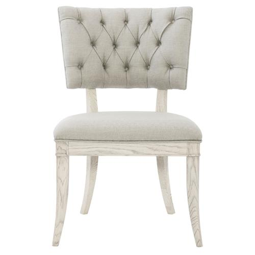 Hayley Hollywood Regency White Oak Klismos Chair | Kathy Kuo Home