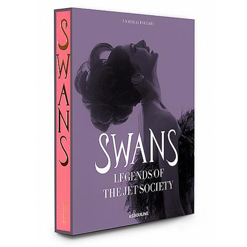 Swans - Legends of Jet Society Assouline Hardcover Book | Kathy Kuo Home