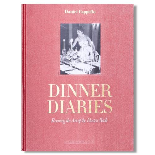 Dinner Diaries Assouline Hardcover Book | Kathy Kuo Home
