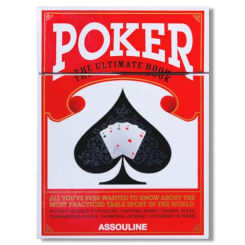 Poker - The Ultimate Book Assouline Hardcover Book | Kathy Kuo Home