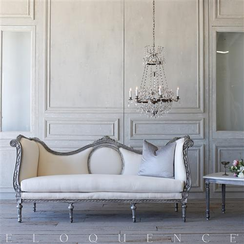 French Country Style Eloquence® Vintage Daybed: 1940 | Kathy Kuo Home