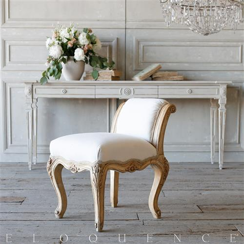French Country Style Eloquence® Vintage Bench: 1940 | Kathy Kuo Home