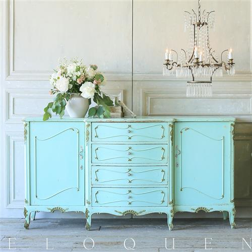 French Country Style Eloquence® Vintage Sideboard: 1940 | Kathy Kuo Home