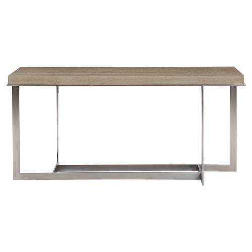 Gwyneth Modern Classic Dark Taupe Rectangular Console Table | Kathy Kuo Home