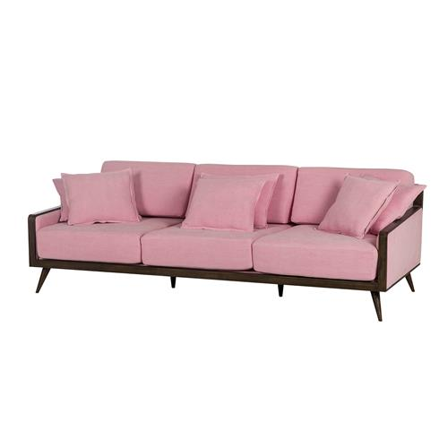 Louisa Modern Classic Pale Pink Oversized Sofa | Kathy Kuo Home