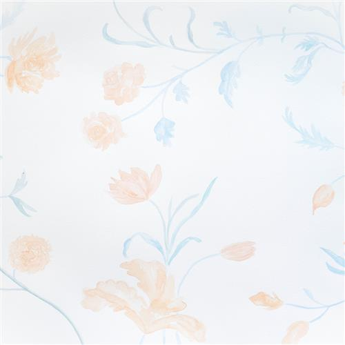 Anewall Dahlia Modern Classic Floral Watercolor Removable