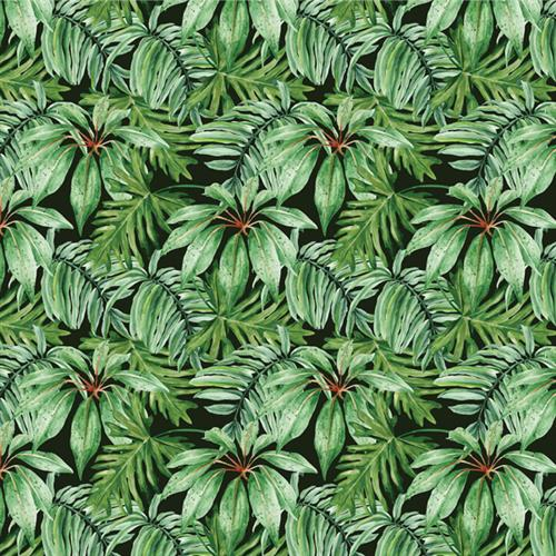 Anewall Banana Leaf Modern Classic Tropical Wallpaper | Kathy Kuo Home
