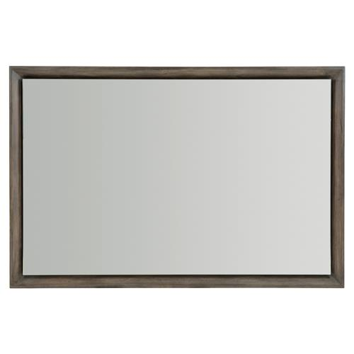 Portia Hollywood Regency Polished Edge Wood Framed Rectangular Wall Mirror | Kathy Kuo Home