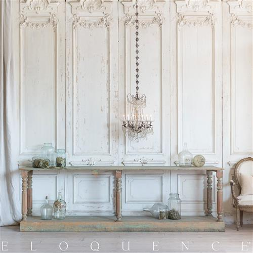 Eloquence French Country Style Antique Drapery Table: 1900 | Kathy Kuo Home