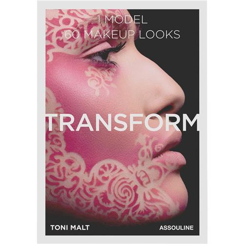Toni Malt Makeup - Transform 60 Makeup looks Assouline Hardcover Book | Kathy Kuo Home