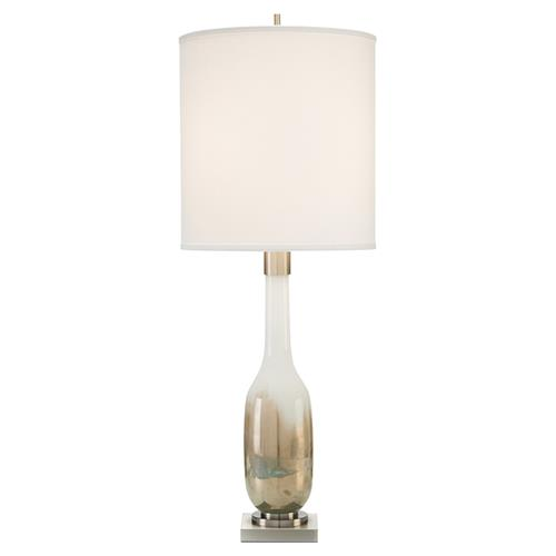 John Richard Modern Classic Hand-Blown Golden Table Lamp | Kathy Kuo Home