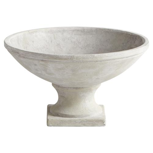 Castellet French Country Sandstone Cement Planter - Small | Kathy Kuo Home