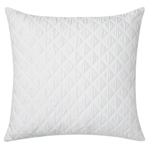Sferra Modern Antella Decorative Pillow - White | Kathy Kuo Home