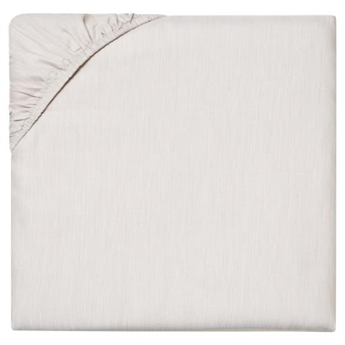 Sferra Modern Opelle Fitted Sheet - Latte Queen | Kathy Kuo Home