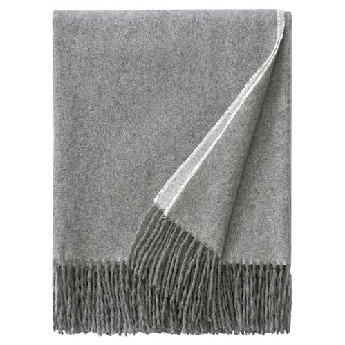 Sferra Modern Renna - Fringed Throw | Kathy Kuo Home