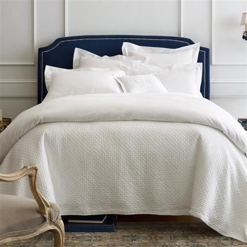 Peacock Alley Modern Lyric Cotton Percale Bedding Collection | Kathy Kuo Home