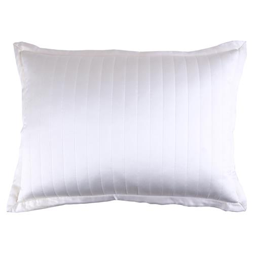 Ann Gish Regency Charmeuse Channel Quilt Pillow 36x30 24 Up Kathy Kuo Home