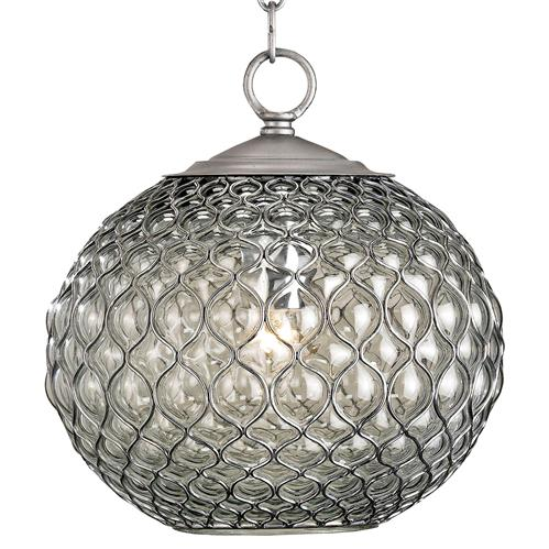 Teardrop Hollywood Regency Modern Glass Orb Pendant Lamp | Kathy Kuo Home