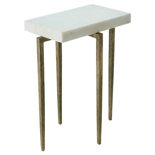 Buy White Marble And Gold Rectangular Coffee Table From: Angel Modern Classic Rectangular White Marble Antique Gold