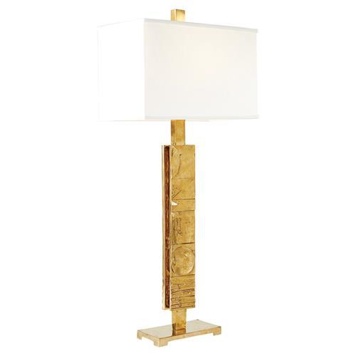 Delonzo modern rectangular cream shade sturdy gold metal table lamp delonzo modern rectangular cream shade sturdy gold metal table lamp kathy kuo home aloadofball Image collections