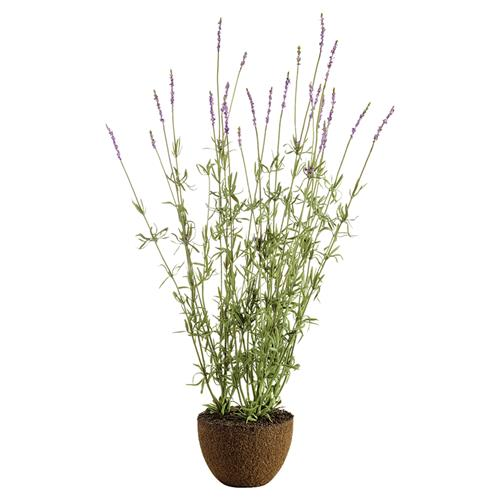 "Paris French Country 40"" Lavander Drop In Faux Floral Plant 