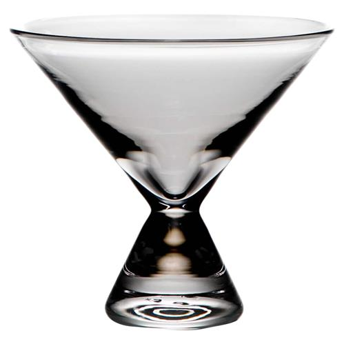 Simon Pearce Modern Classic Westport Stemless Martini Glass | Kathy Kuo Home