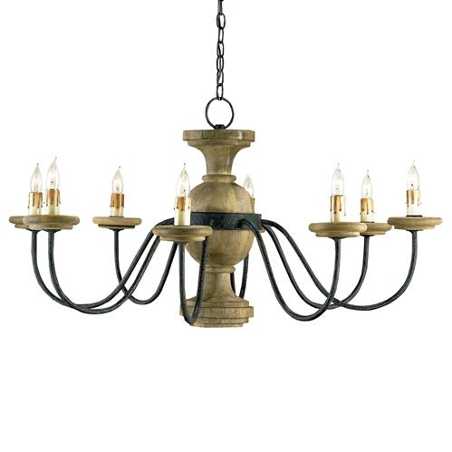Stroud French Country 8 Light Elegant Chandelier | Kathy Kuo Home