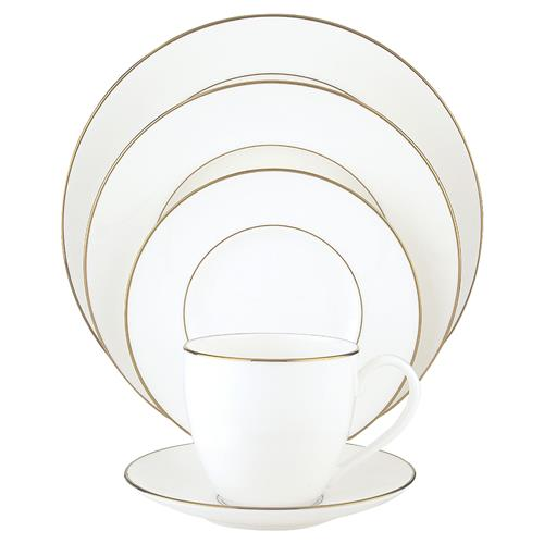 Lenox Continental Dining Gold 5-piece Place Setting | Kathy Kuo Home