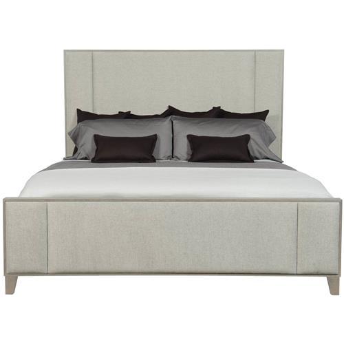 Landon Modern Masculine Beige, Landen Queen Upholstered Platform Bed