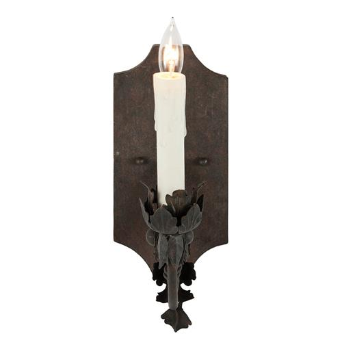 Ferronnerie French Country Acanthus Leaf Scroll Wall Sconce | Kathy Kuo Home