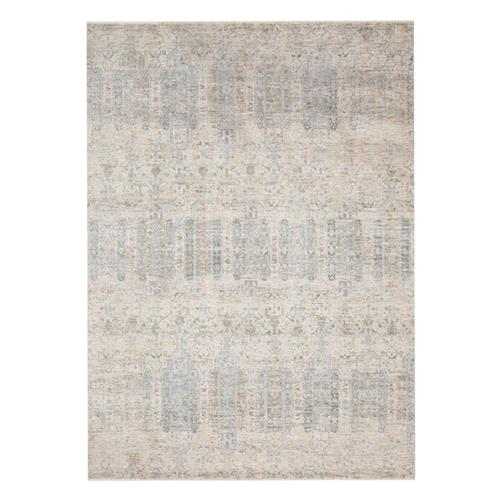 Marjorie Modern Classic Power Loomed Pale Blue Rug - 5' x 8'"