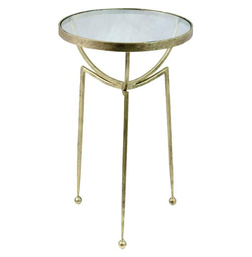 Gemma Modern Contemporary Sculpture Side Table | Kathy Kuo Home