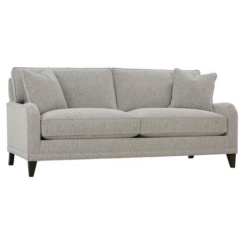Loose Pillow Back Sofa: Kitteridge Modern Classic English Arm 2 Cushion Loose Back