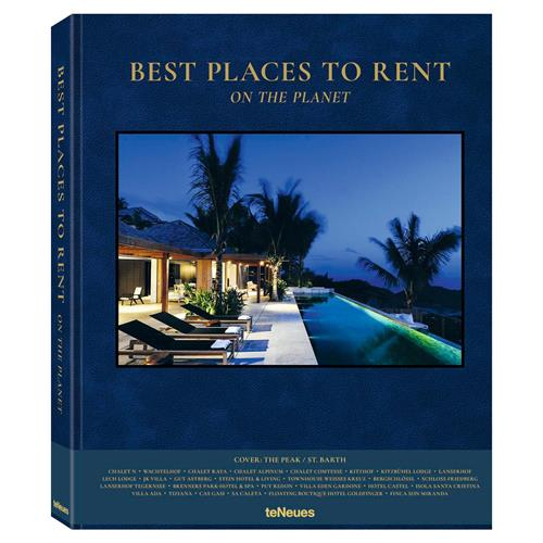 teNeues Best Places to Rent on the Planet Hardcover Book | Kathy Kuo Home