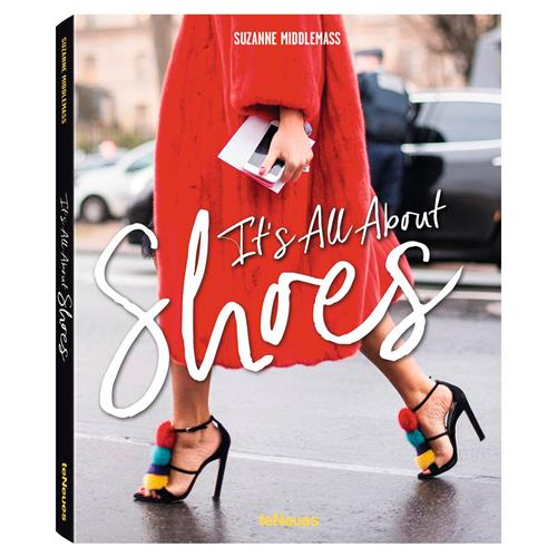 teNeues It's all about Shoes Hardcover Book | Kathy Kuo Home