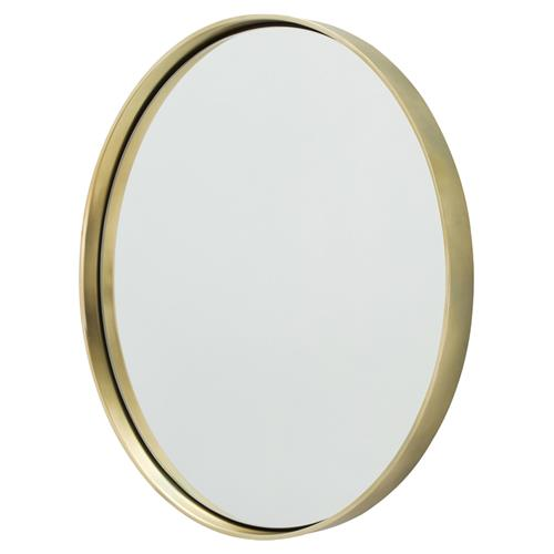 Obsie Modern Simple Round Ring Mirror - Gold | Kathy Kuo Home