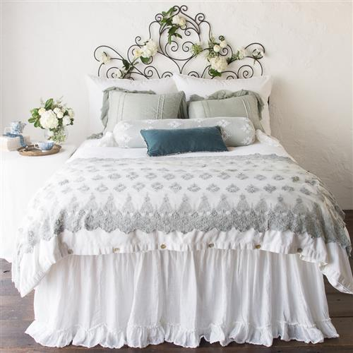 Bella Notte Helane French Country Cotton Velvet Bedding Collection