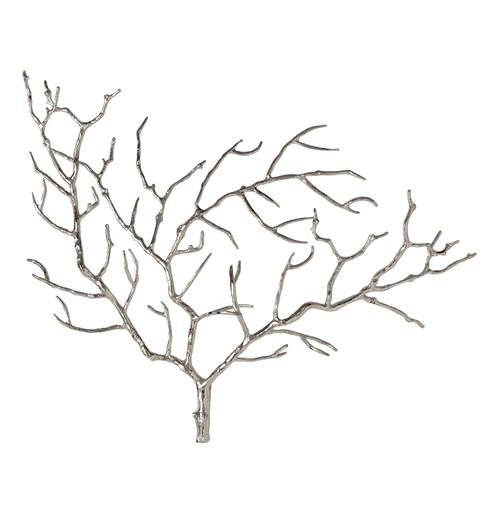 Edwin Metal Tree Branch Modern Wall Sculpture | Kathy Kuo Home
