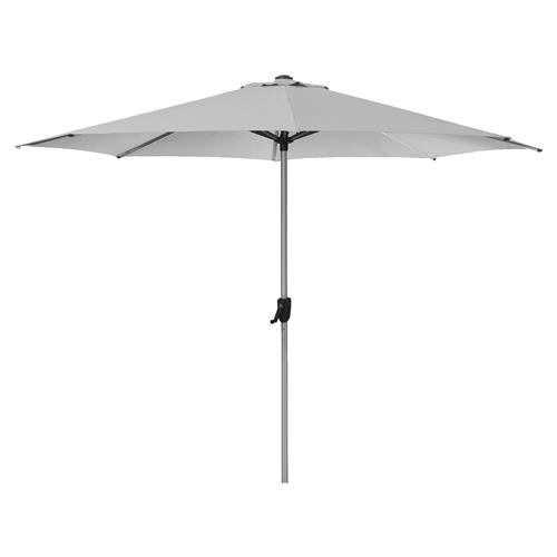 Cane-line Modern Sunshade Outdoor Grey Parasol | Kathy Kuo Home