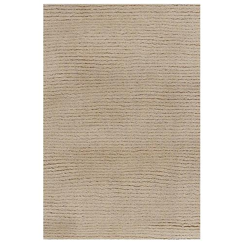 Harper Modern Brown Wool Rug - 5' x 7'6 | Kathy Kuo Home
