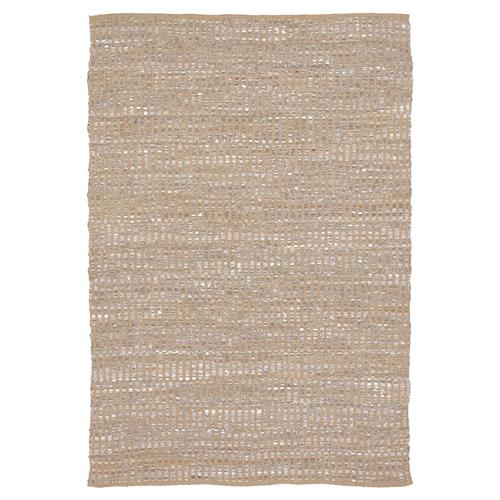 Lily Modern Brown Grey Reversible Rug - 5' x 7'6 | Kathy Kuo Home