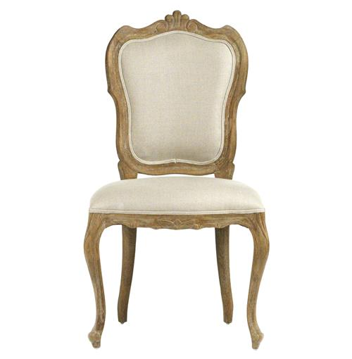 Margaux French Country Carved Shield Back Dining Chair | Kathy Kuo Home