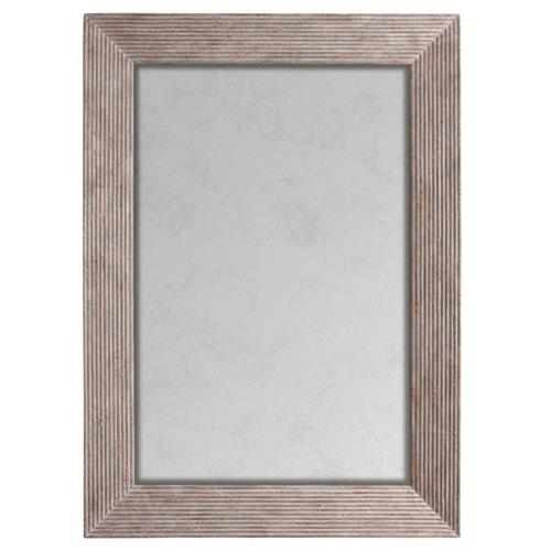 Bistro French Country Ribbed Antique Rectangular Mirror | Kathy Kuo Home
