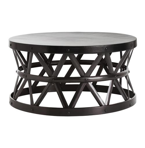 Stanley Costello English Modern Bronze Coffee Table | Kathy Kuo Home